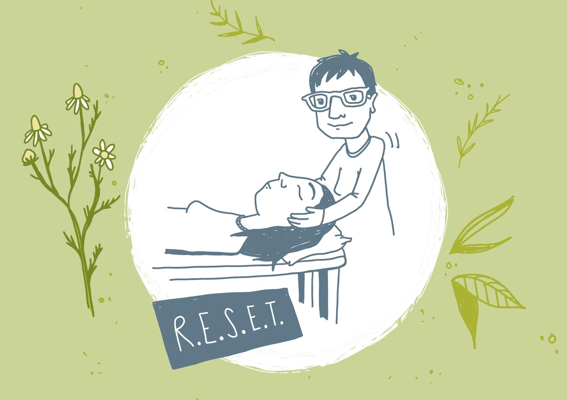 Reset-Kieferbalance